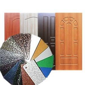 Ремонт и реставрация входных металлических дверей в Харькове
