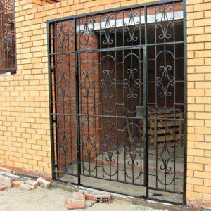 01 Решетчатые двери + нестандарт + кованные элементы