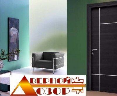 02 Межкомнатные двери с молдингом