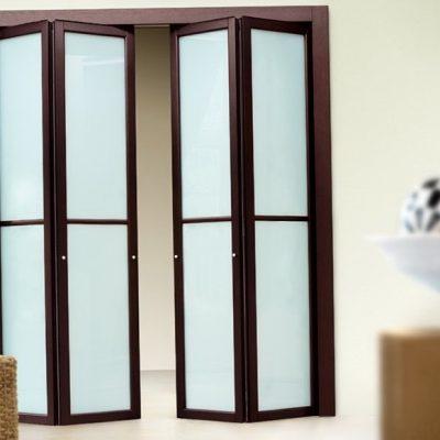 03 Межкомнатные двери книжка со стеклом