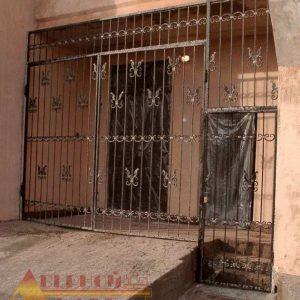 09 Решетчатые двери + нестандарт + кованные элементы