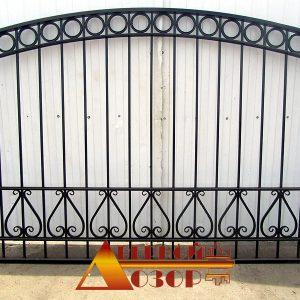 11 Кованные ворота