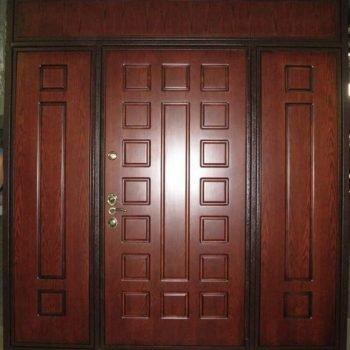 12 Входная дверь в квартиру + нестандарт + 3 фрамуги
