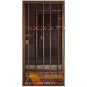 13 Решетчатая дверь + кованные элементы