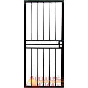 14 Решетчатая дверь