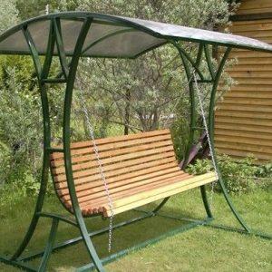 1 Скамейка с навесом