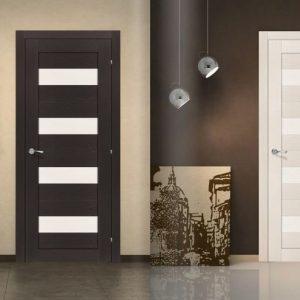 21 Межкомнатные двери со стеклом