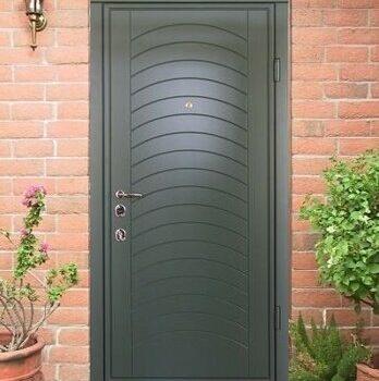 26 Входная дверь в дом + стандарт + зеленая