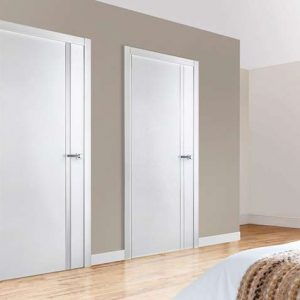 27 Межкомнатные двери с молдингом