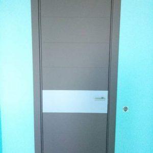 34 Межкомнатные двери + вставка из нержавейки