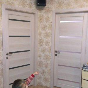 37 Межкомнатные двери со стеклом