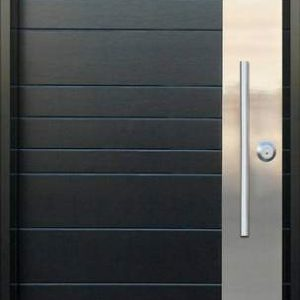 42 Межкомнатные двери + вставка из нержавейки + офисная ручка
