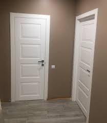 47 Межкомнатные двери классика белые