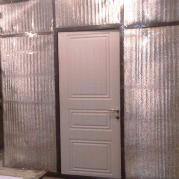 51 Входная дверь в дом + нестандарт + процесс сборки