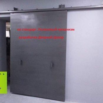 54 Входная дверь на производство + нестандарт + на раздвижная