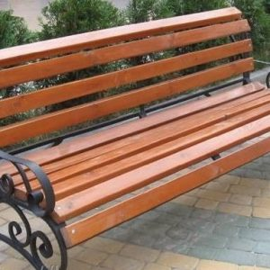 7 Скамейка с ковкой